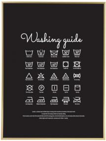 Washing guide - Black