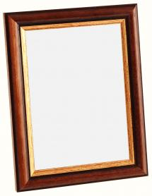 Spegel Siljan Brun 8A - Egna mått