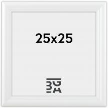 Siljan Vit 8B 25x25 cm
