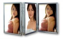 Tripla Silver 3 Bilder Vikram 10x15 cm