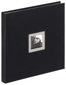 Black & White Album Svart - 30x30 cm (50 Svarta sidor / 25 blad)