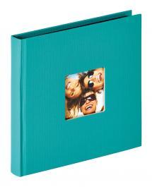 Fun Album Grön - 18x18 cm (30 Svarta sidor / 15 blad)