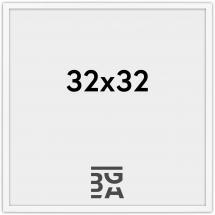 Edsbyn Vit 2D 32x32 cm