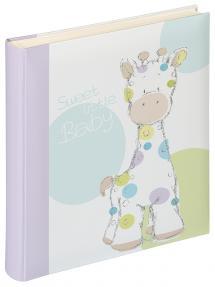 Kima Babyalbum - 28x30,5 cm (50 Vita sidor / 25 blad)