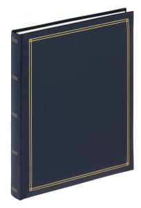 Monza Album Självhäftande Blå - 25x30 cm (30 Sidor)
