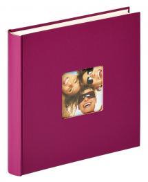 Fun Design Lila - 30x30 cm (100 Vita sidor / 50 blad)