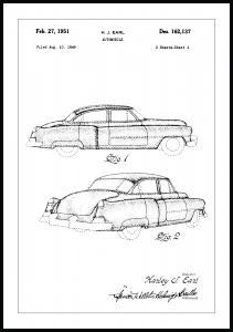 Patentritning - Cadillac I