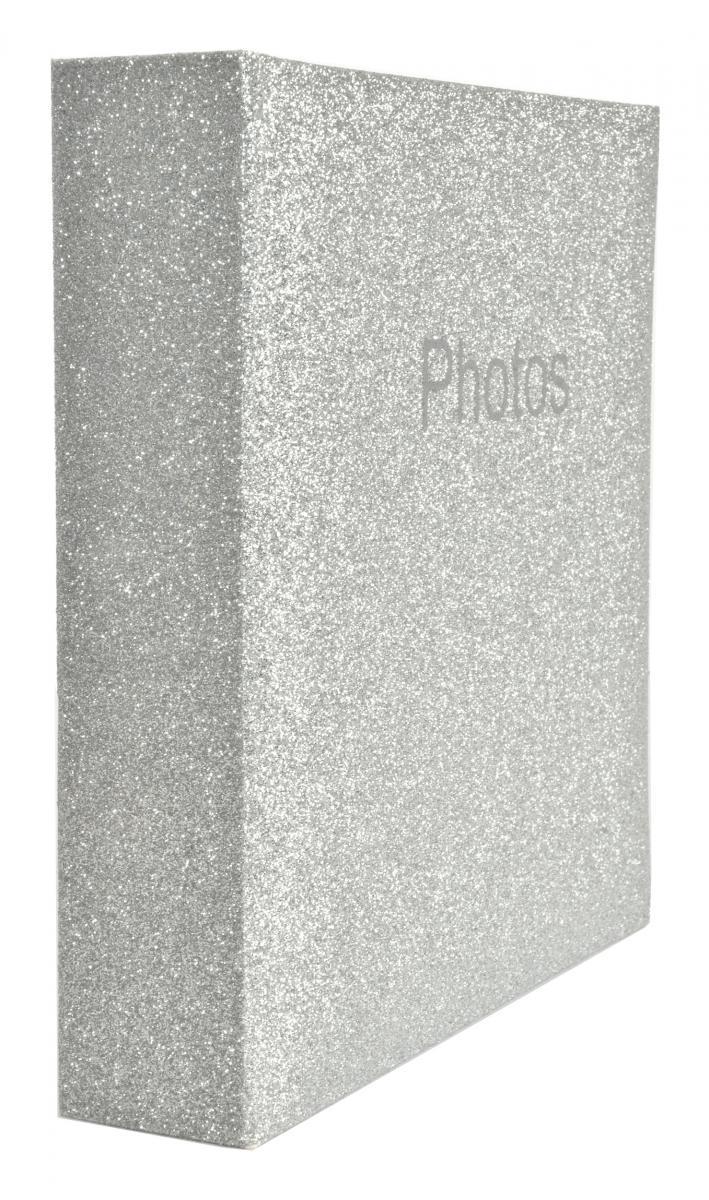 Glitter Album Silver - 200 Bilder i 10x15 cm - BGA Fotobutik 92d7571cfc77