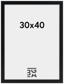 Amanda Box Svart 30x40 cm