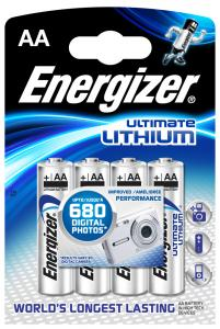 Batterier Energizer Ultimate Lithium AA 4-pack