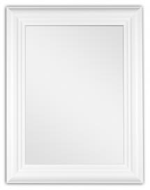 Spegel Siljan Vit 8B - Egna mått