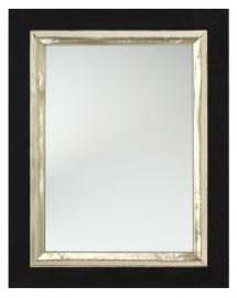 Spegel Leonie Svart - Egna mått