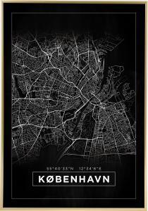 Map - København - Black