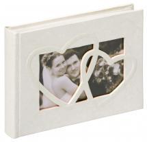 Sweet Heart Fotoalbum - 22x16 cm (40 Vita sidor / 20 blad)