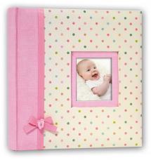 Kara Album Rosa - 24x24 cm (40 Vita sidor / 20 blad)