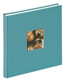 Fun Album Turkos - 26x25 cm (40 Vita sidor / 20 blad)