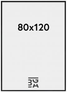 Amanda Box Plexiglas Svart 80x120 cm