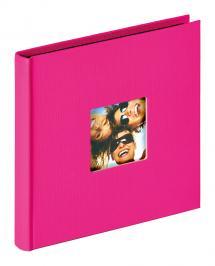 Fun Album Rosa - 18x18 cm (30 Svarta sidor / 15 blad)