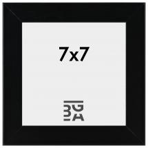 Edsbyn Svart 2E 7x7 cm