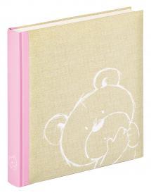 Dreamtime Barnalbum Rosa - 28x30,5 cm (50 Vita sidor / 25 blad)