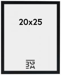 Edsbyn Ram Svart 2E 20x25 cm