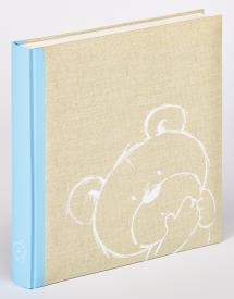 Dreamtime Barnalbum Blå - 28x30,5 cm (50 Vita sidor / 25 blad)