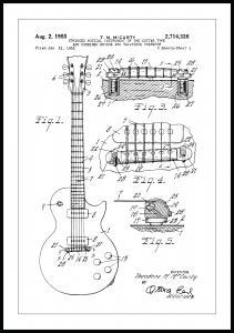 Patentritning - Elgitarr I