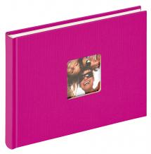Fun Album Rosa - 22x16 cm (40 Vita sidor / 20 blad)