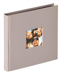 Fun Album Grå - 18x18 cm (30 Svarta sidor / 15 blad)