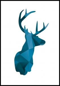 Deer - Blå