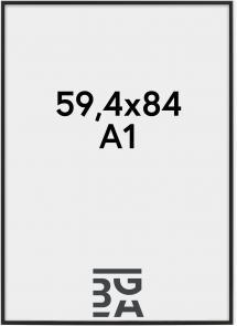 Nielsen Premium Classic Matt Svart 59,4x84 cm (A1)