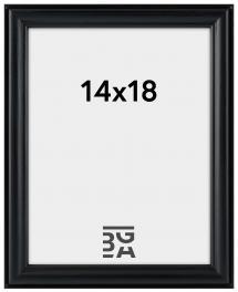 Line Svart 14x18 cm