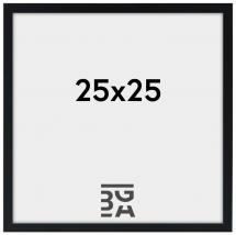 Fotoram Svart 2E 25x25 cm
