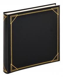 Kvadrat Svart - 30x30 cm (100 Vita sidor / 50 blad)