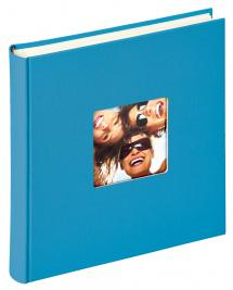 Fun Album Havsblå - 30x30 cm (100 Vita sidor / 50 blad)