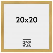 Fotoram Guld 2A 20x20 cm