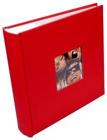 Fotoalbum Fun Röd - 200 Bilder i 10x15 cm
