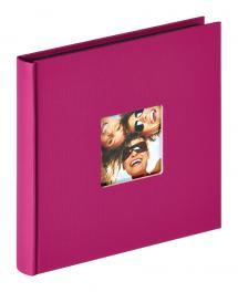 Fun Album Lila - 18x18 cm (30 Svarta sidor / 15 blad)
