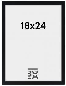 Edsbyn Svart 2E 18x24 cm