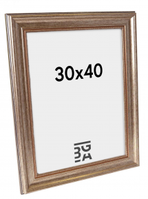 Rokoko Silver 30x40 cm