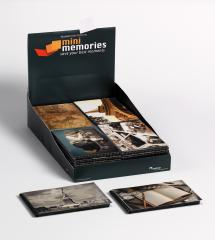 Mini Memories Album Travel 6 varianter - 40 Bilder i 10x15 cm - 36-pack