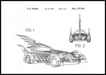 Patentritning - Batman - Batmobile 1996 I