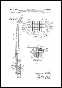 Patentritning - Elgitarr II