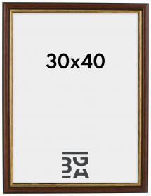 Siljan Brun 8A 30x40 cm