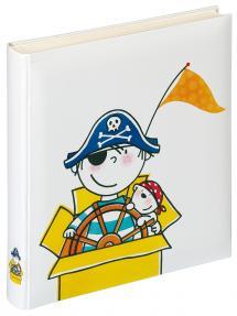 Barnalbum Pirat Dagis - 28x30,5 cm (50 Vita sidor / 25 blad)