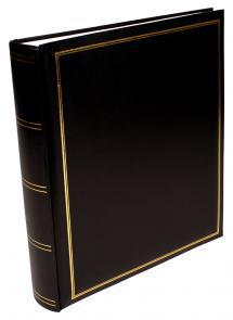 Exclusive Line Maxi Album Svart 30x33 cm (100 Vita sidor / 50 blad)