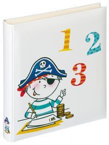 Barnalbum Pirat Skola - 28x30,5 cm (50 Vita sidor / 25 blad)