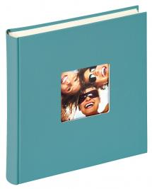 Fun Album Turkos - 30x30 cm (100 Vita sidor / 50 blad)