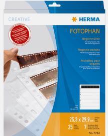 Herma negativfickor - 25-pack