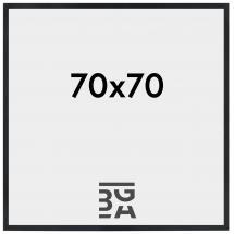 Stilren Svart 70x70 cm
